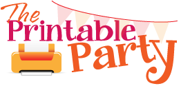 The Printable Party – Customizable, Printable Party Decorations and Invitations