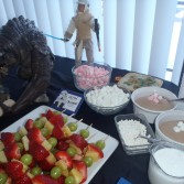 Hoth Chocolate, Obi Wan Kebabs, and a baby Rancor