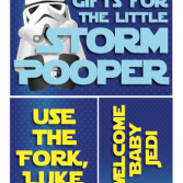 Printable Star Wars Decor Flags/Mini-Signs