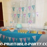 Printable Frozen Party banners decorations